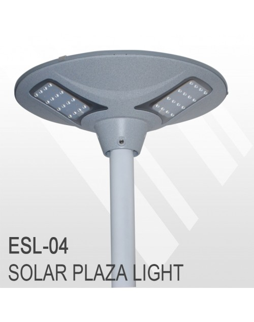 Outdoor Led Solar Garden Gate Park Light With Pir Esl-04
