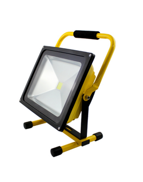 Rechargeable Battery LED Flood light 50W