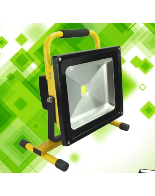 30w led flood light, useful rechargeable led work light
