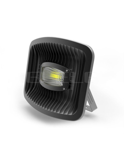IP65 white shell and black shell 60w cob led flood light