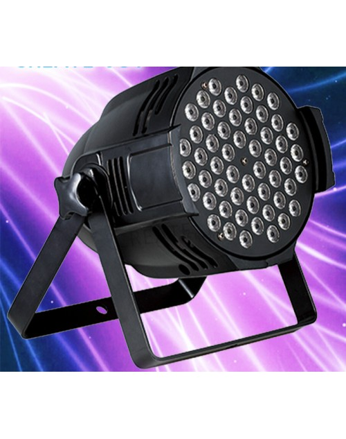 54x3 led stage par can/54pcs 3w RGBW led par S2412