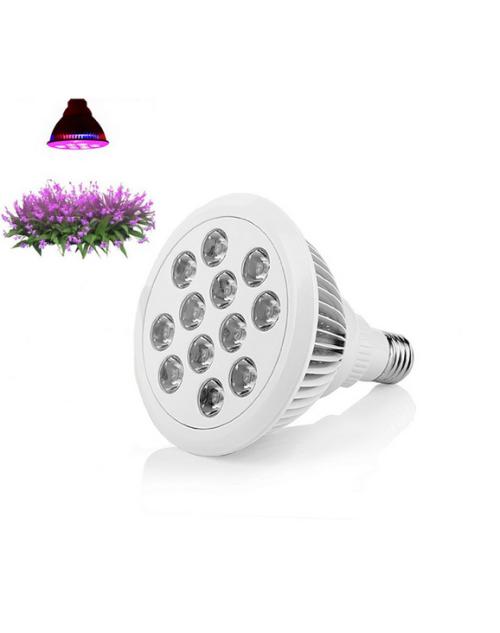 LED Grow Light 12W Plant Grow Lights E27 Growing Bulbs