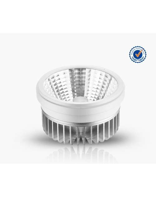 AR111 20W LED Grille Light with Round or Square Frame Reflector Cup