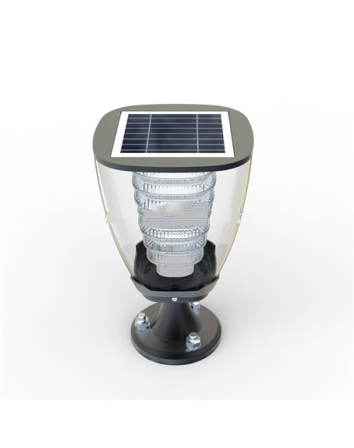 Decorative Main Gate Garden Led Light Outdoor Solar Lamp