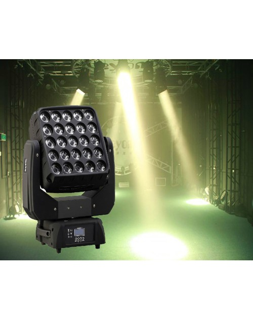 Disco lighting25*15w 4in1rgbw moving head beam lighting for dj