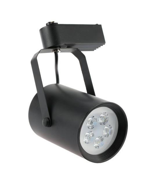 Super bright LED Track Light 5LEDs 5W AC85- 265V COB Rail Adjustable Track Spotlight lamp for Mall Ehibition Office Use light