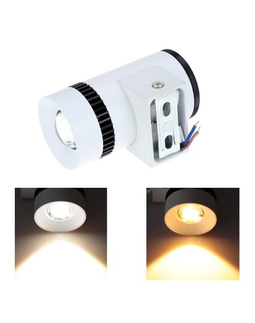 New Modern 3W 9.3CM LED Wall Lamp Bedroom Headboard Bedside Lamp Banheiro LED Bathroom Light Wall Sconce Lampe Deco