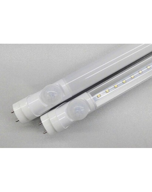T8 LED emergency tube light 4ft 2ft 18W 9W with motion sensor PIR sensor
