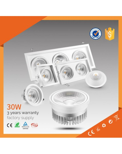 dimmable easy assembling dimmable ar111 led spotlight