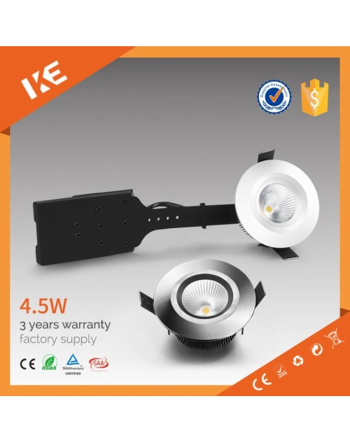 high lumen commercial lighting led downlight 5w, led downlight ul, cob downlight 5w